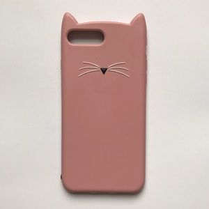 Kate spade iPhone 7 Plus cat phone case